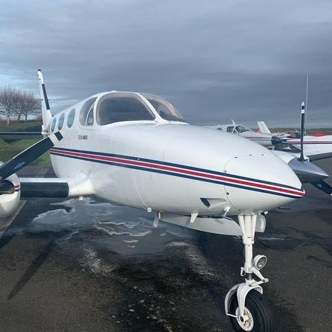 Cessna 340A Exterior