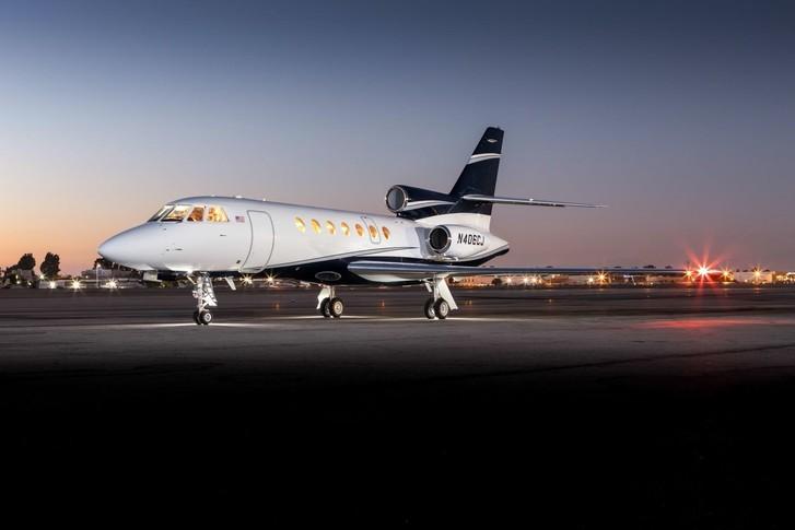 Dassault Falcon 50EX Exterior