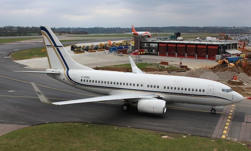 Boeing BBJ Exterior