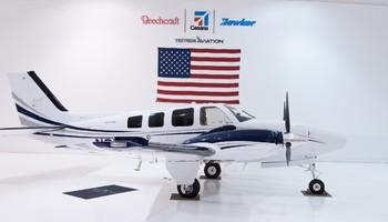 2018 beechcraft g58 baron exterior