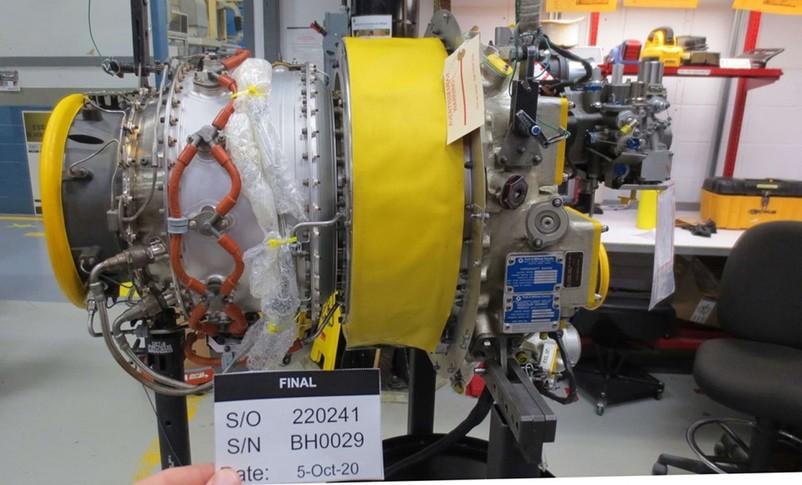 Pratt & Whitney Canada PW 207C Engine