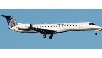 Embraer ERJ-145 In the sky