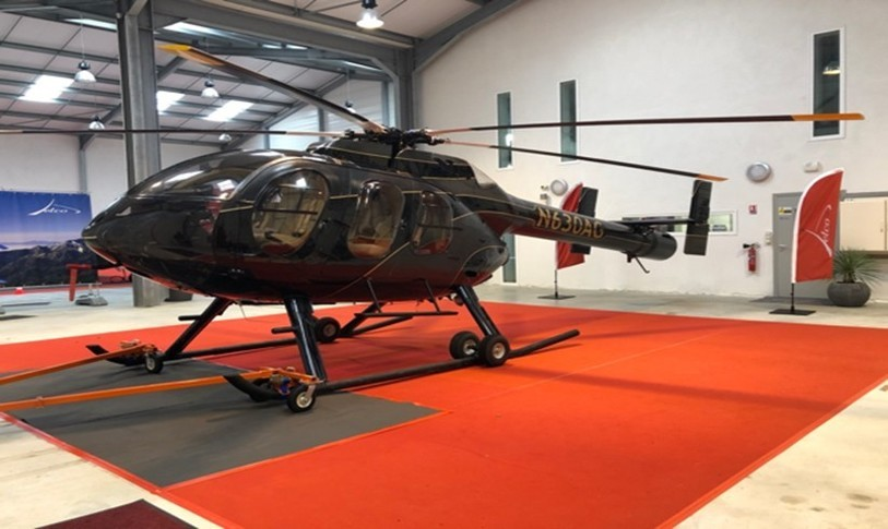 McDonnell Douglas Helicopter 600N Exterior