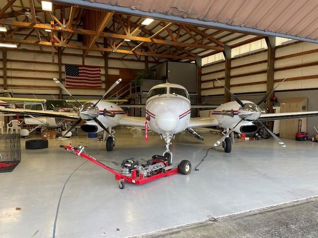 Piper Cheyenne II In Hangar
