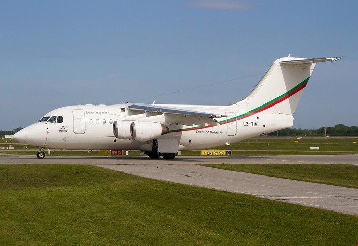 BAe Avro RJ70 Exterior