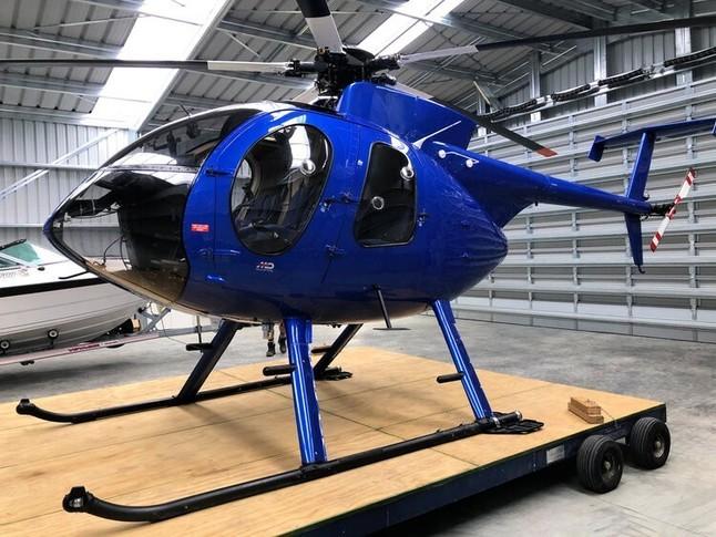 McDonnell Douglas Helicopter 500E Exterior