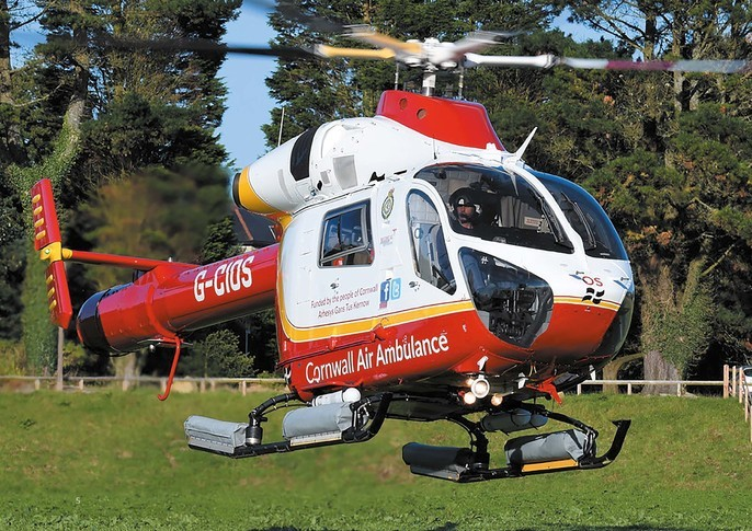 McDonnell Douglas Helicopter 902 Explorer Exterior