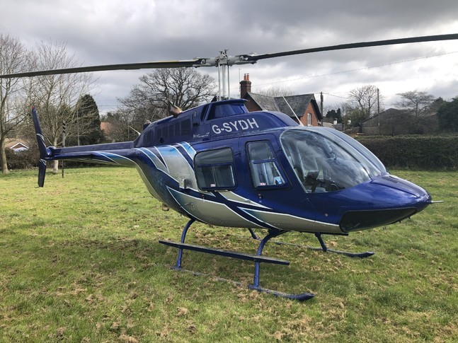 Bell 206B III Exterior