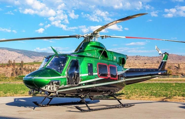 Bell 412 Exterior