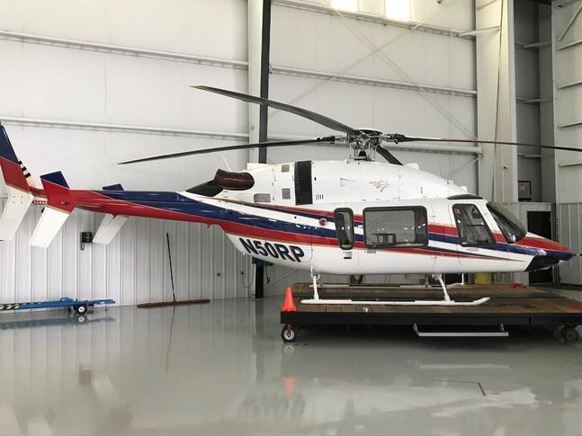 Bell 427 In Hangar