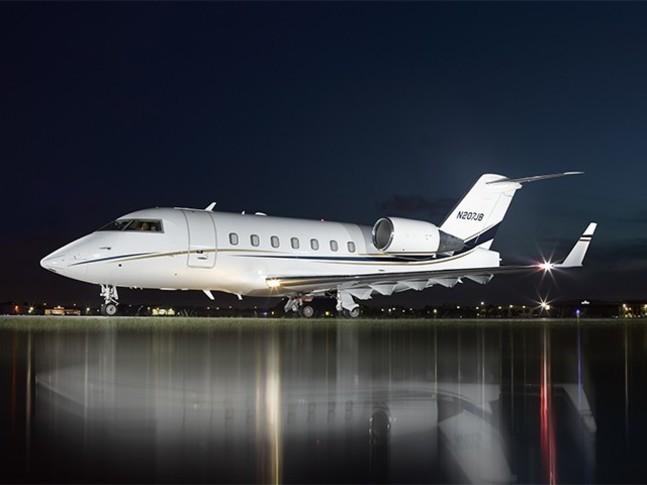 Bombardier Challenger 601-3R Exterior