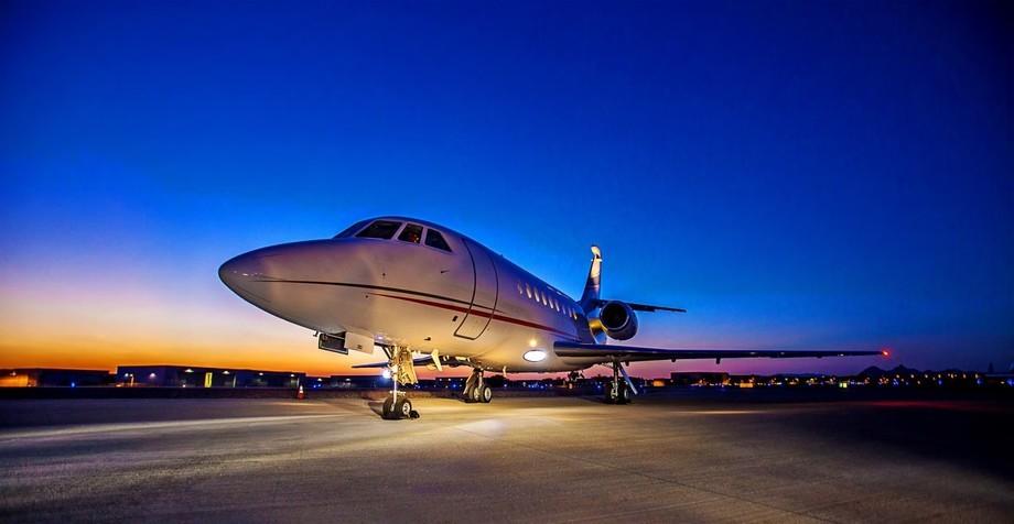 Dassault Falcon 2000EX Exterior