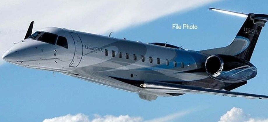 Embraer Legacy 600 In the sky