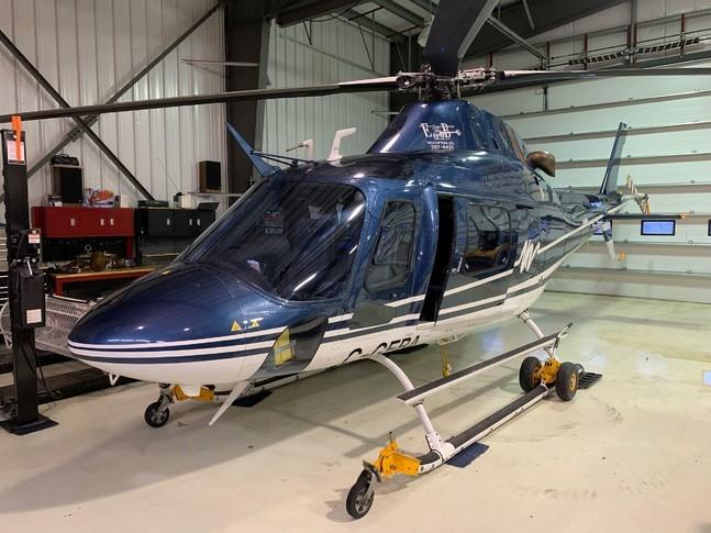 Agusta AW119 MKII Koala In Hangar