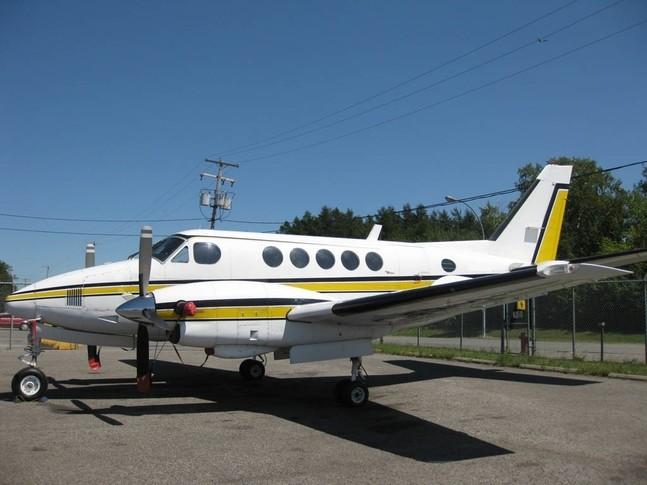 Beechcraft King Air A100 Exterior