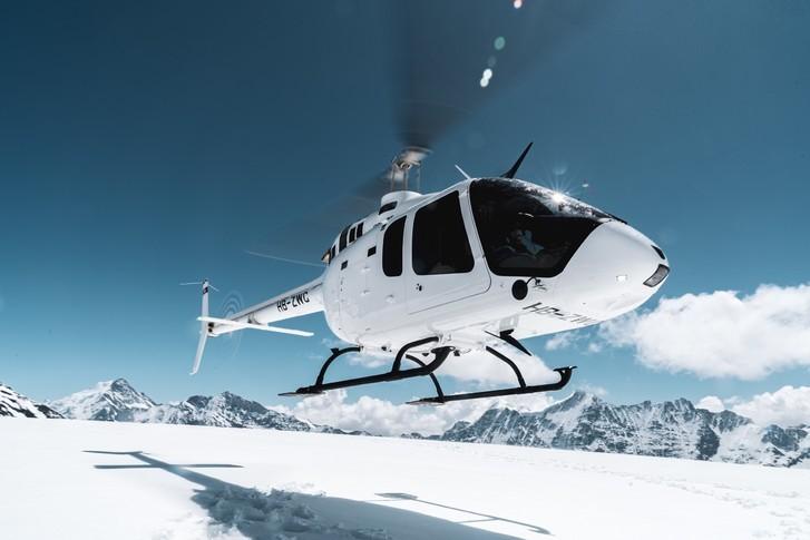 Bell 505 Jetranger X In the sky