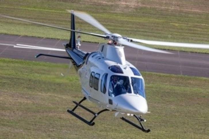 Leonardo AW109 Trekker In the sky
