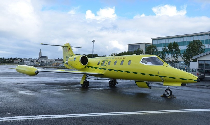 Bombardier Learjet 35A Exterior