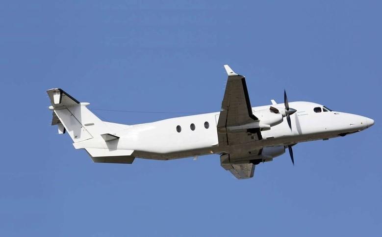Beechcraft 1900D In the sky