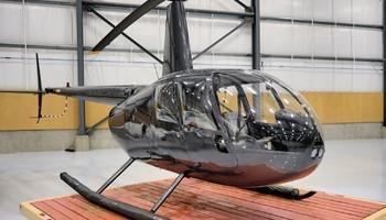 Robinson R44 Clipper II In Hangar