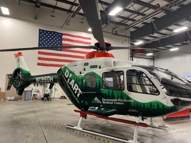 Airbus/Eurocopter EC 135P1 In Hangar
