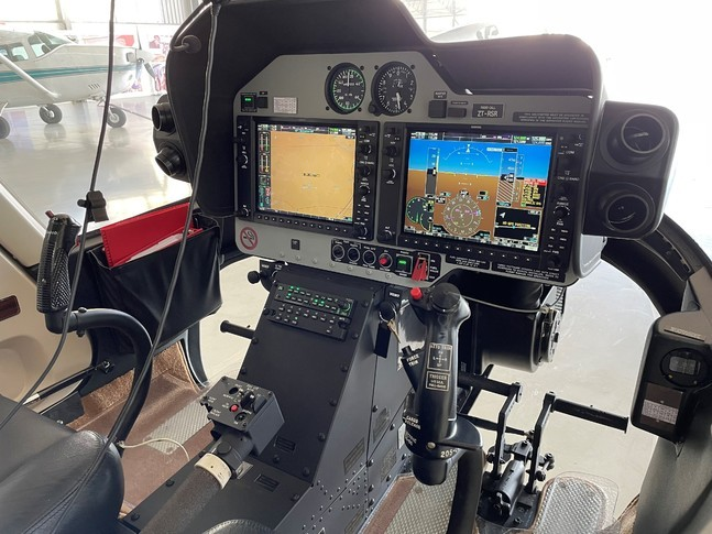 Bell 407GXP Panel