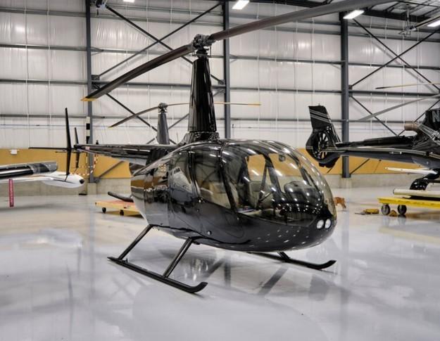 Robinson R66 In Hangar