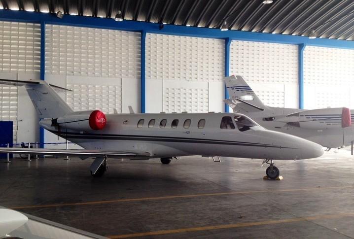 Cessna Citation CJ2 In Hangar