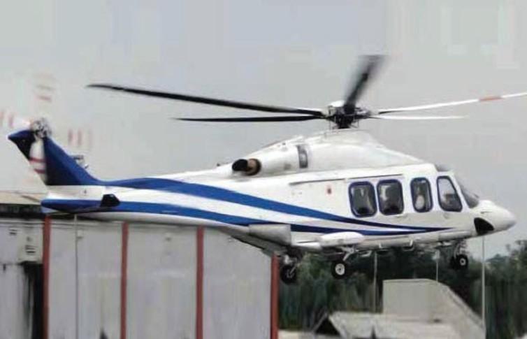 Agusta AW139 In the sky