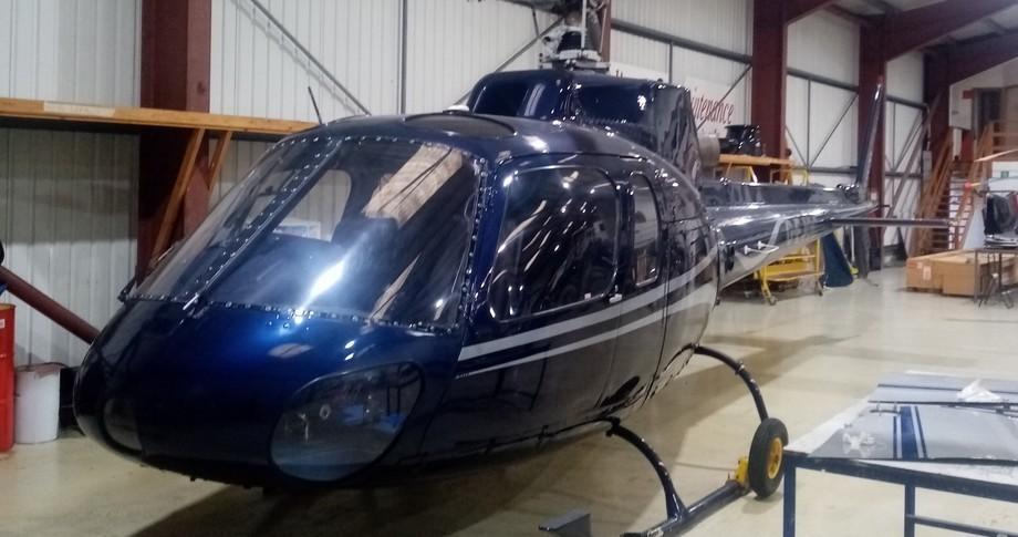 Airbus/Eurocopter AS 350 Exterior