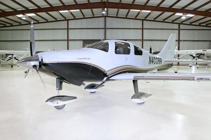 Cessna TTx In Hangar