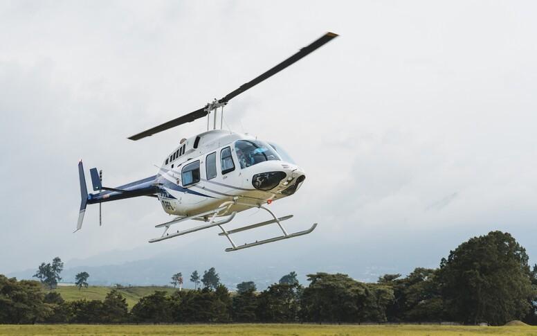 Bell 206L 4 Exterior
