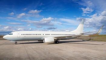 Boeing BBJ2 Exterior