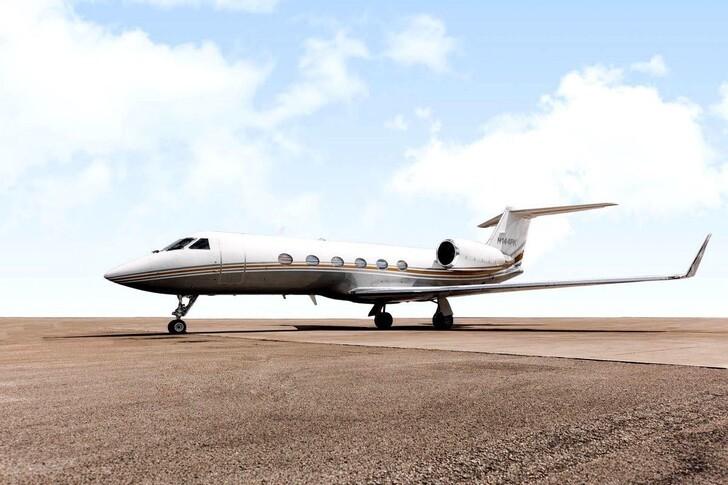 Gulfstream IVSP Exterior