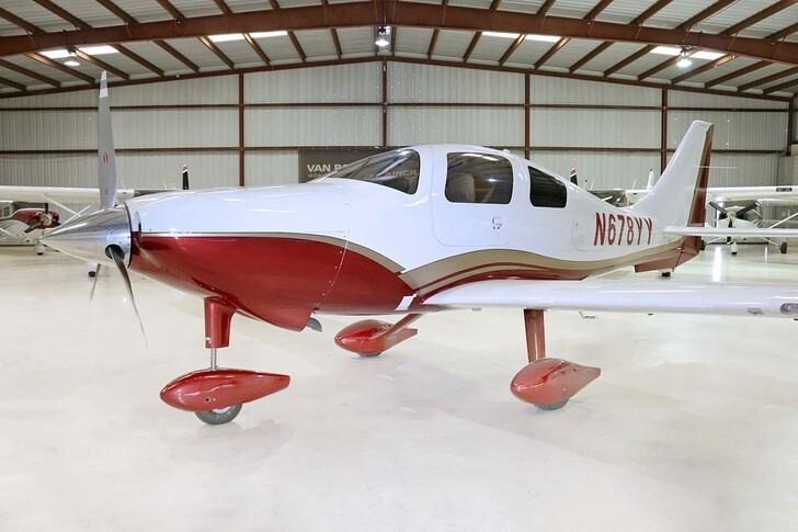 Cessna 400 In Hangar