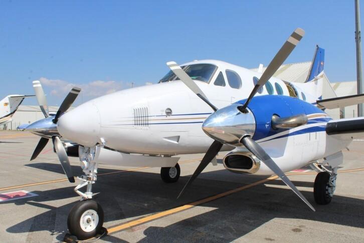 Beechcraft King Air C90A Exterior