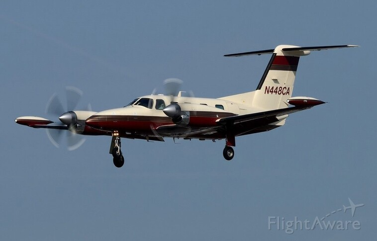 Piper Cheyenne 400LS In the sky