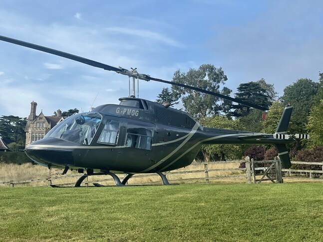 Bell 206 Exterior