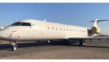 Bombardier Challenger CRJ-200LR Exterior