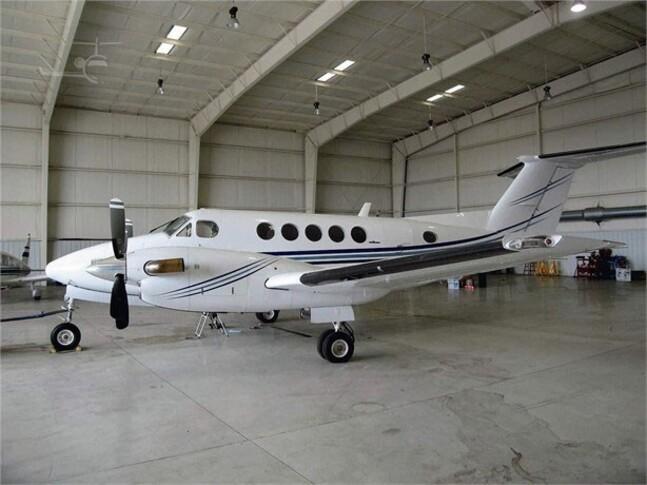 Beechcraft King Air B200 In Hangar