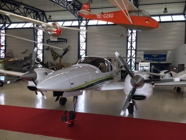 Diamond DA42 TDi In Hangar