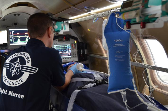 Air Ambulance-configured Bombardier Learjet 45XR