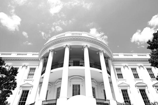White House - Black and White