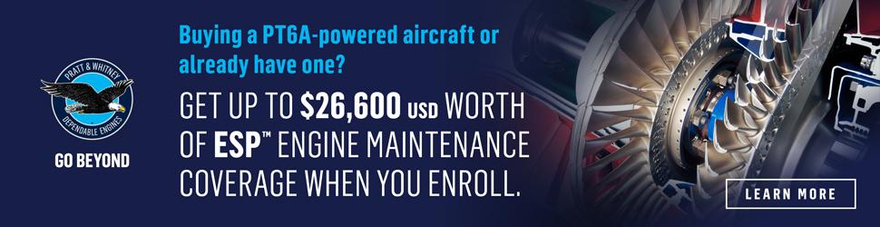 Enrol on Pratt & Whitney Canada's ESP Engine Program