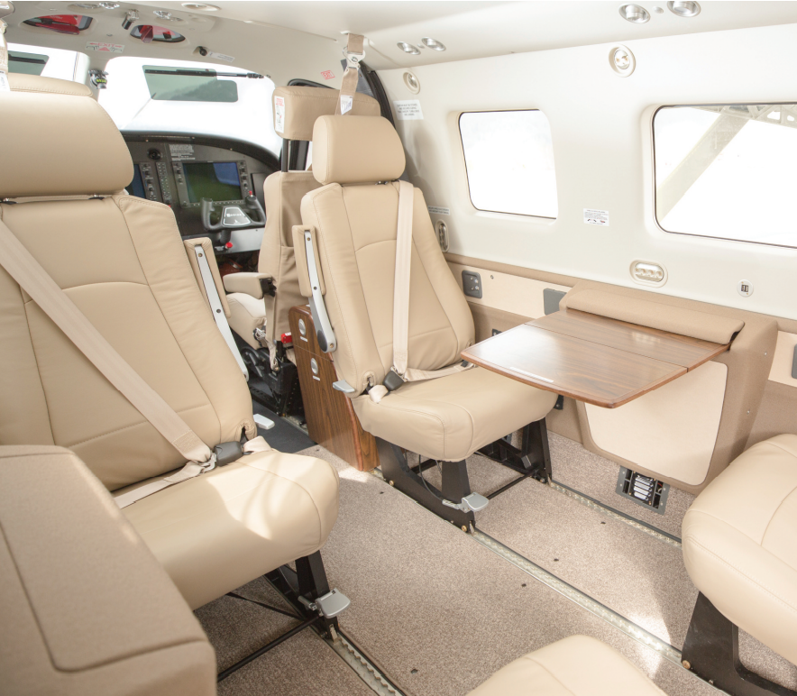 Daher Kodiak 100 series III interior