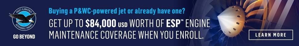 PWC ESP Engine Maintenance Banners