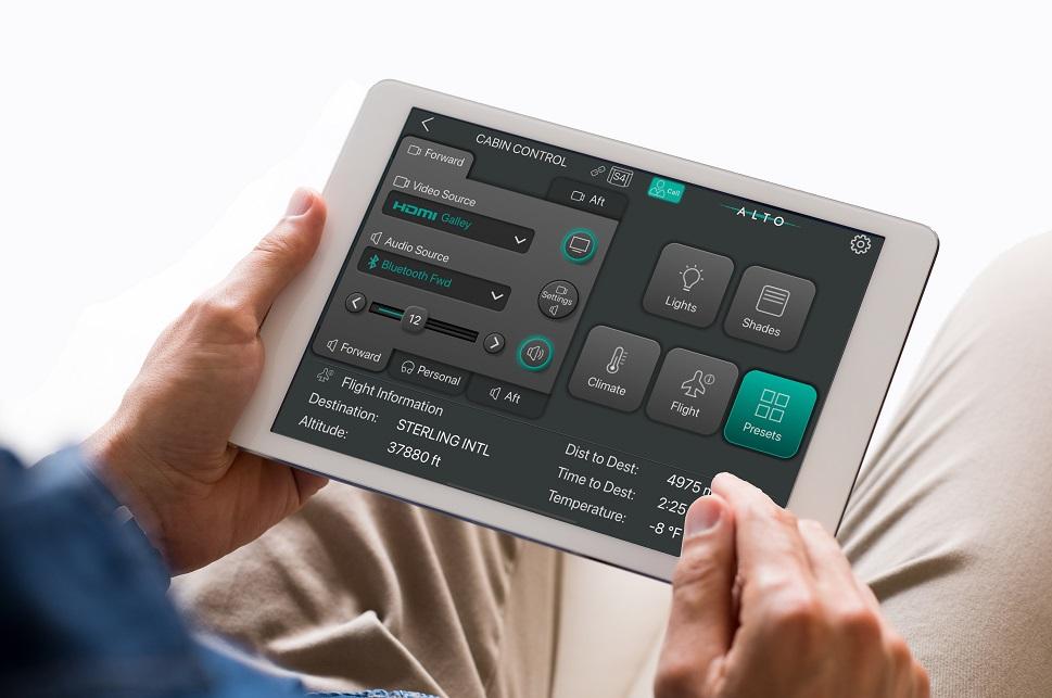 ALTO Cadence app-based cabin control system