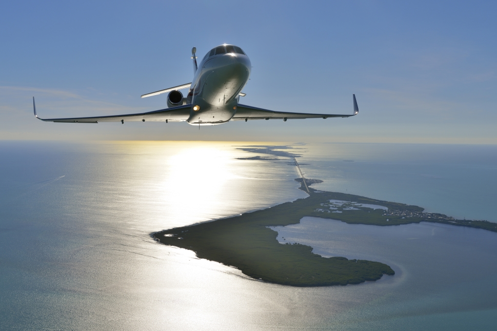 Honeywell TFE 731-60 equipped Dassault Falcon 900LX private jet
