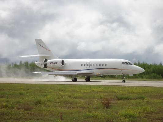 Dassault Falcon 2000 jet
