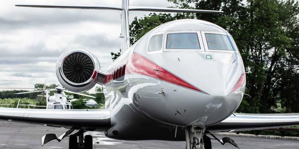 Honeywell MSP - a Gulfstream private jet in Honeywell livery
